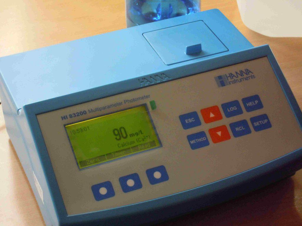 Controllo analitico con fotometro